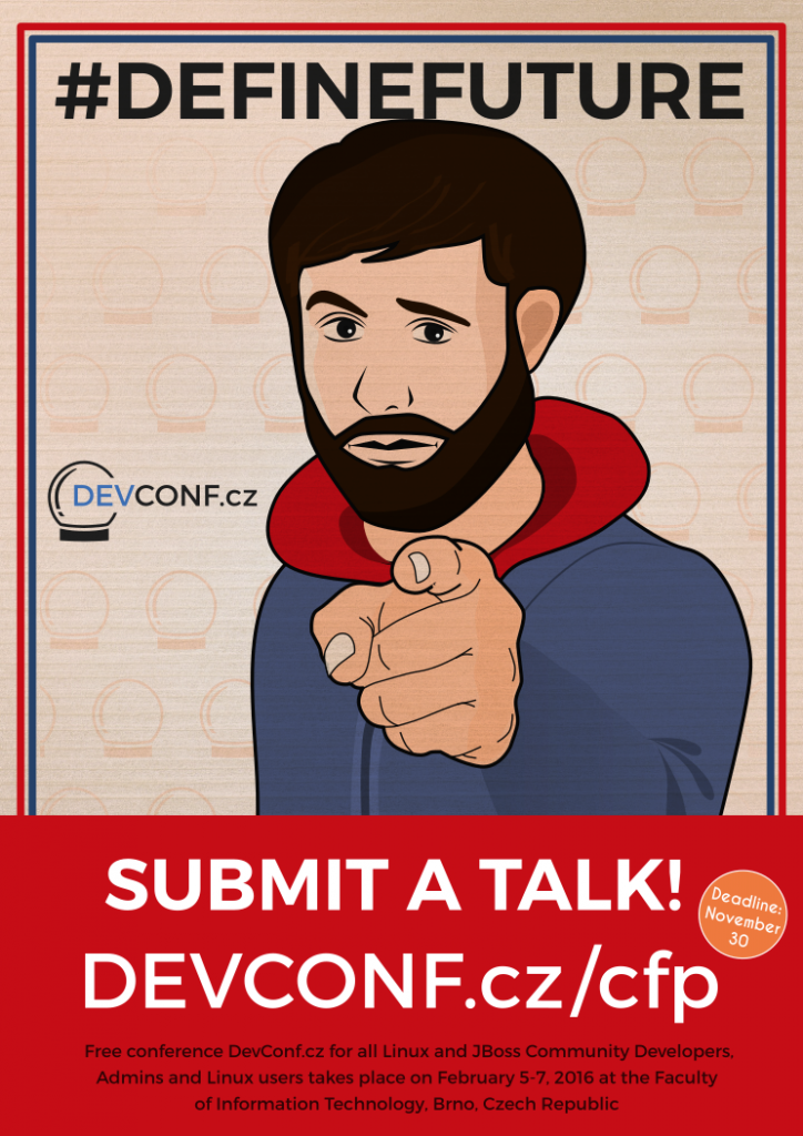 DevConfCZ - CFP - I want You!